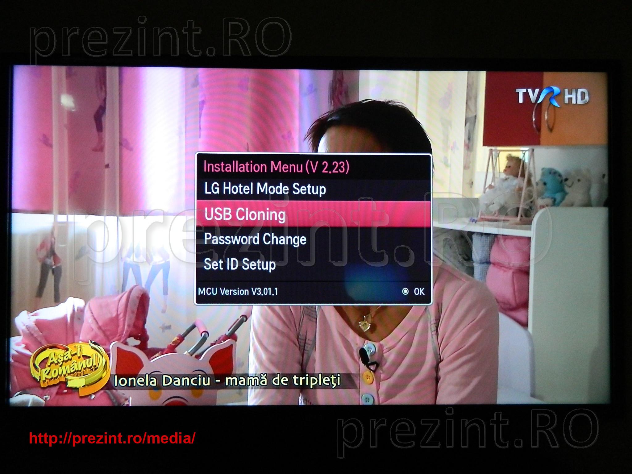 LG TV editare lista de canale