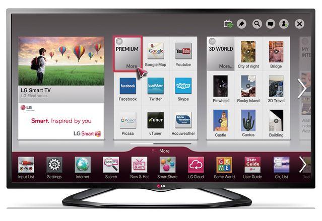 LG Smart TV 47LN613S